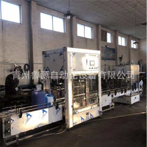 鲁源灌装机械 定量18升润滑油灌装机