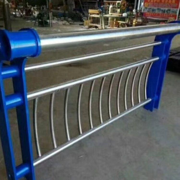 航拓 201不锈钢复合管栏杆定做 优质不锈钢复合管栏杆