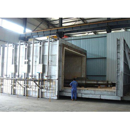 生产全纤维台车炉用途 璐广电炉 全纤维台车炉