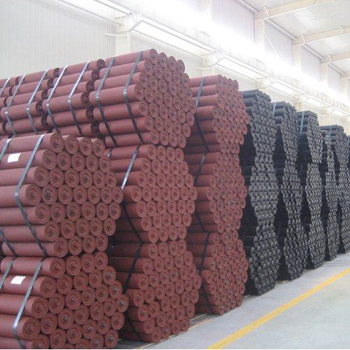 天恩输送机械 煤矿专用托辊组经销商 矿用托辊组加工厂