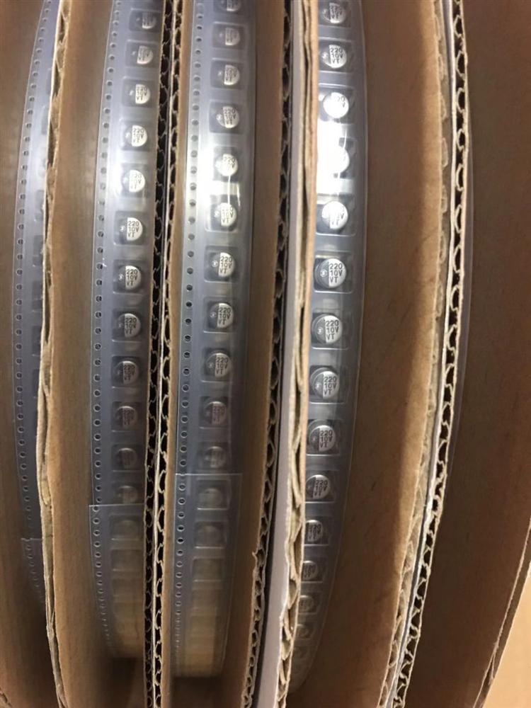 220UF 10V 6.3*5.4 VT进口贴片铝电解电容