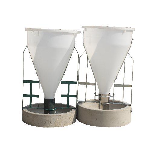彩鹏 猪用干湿自动下料器生产视频 喂猪的干湿自动下料器提供