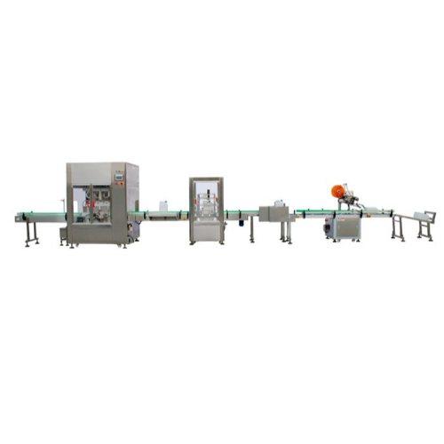 蜂蜜伺服灌装机 半自动伺服灌装机生产线 腾卓机械