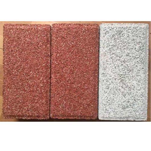 彩色仿石生态透水砖批发 蜀通 PC仿石生态透水砖商家