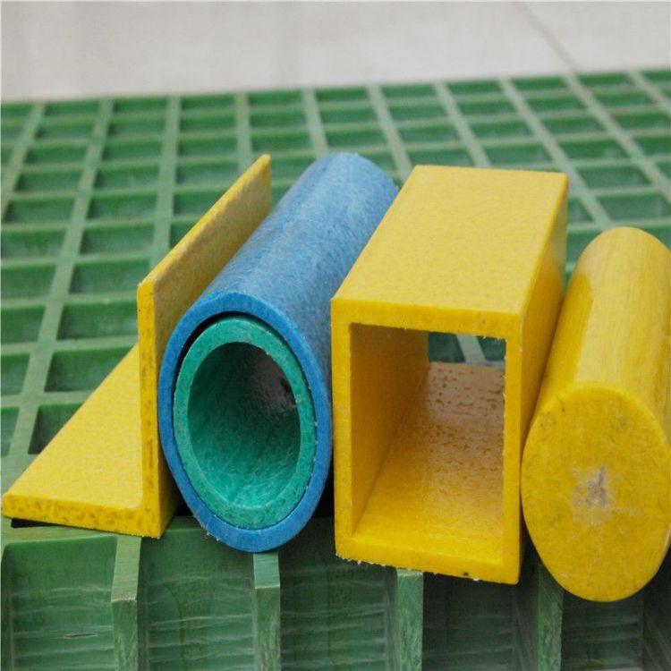 常年供应玻璃钢方管玻璃钢管-强度高先进的生产技术过硬的质量