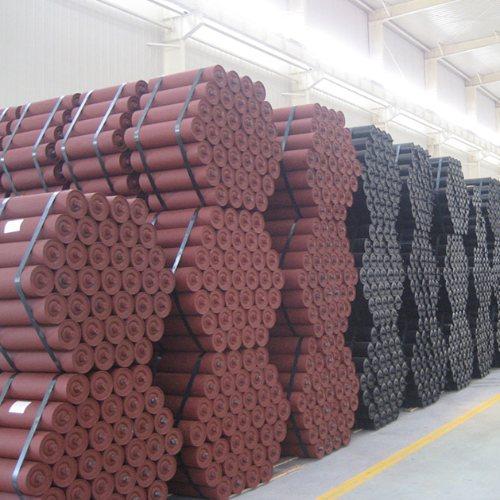 槽型辊子加工厂 安久工矿配件 包胶辊子生产商 缓冲辊子工厂