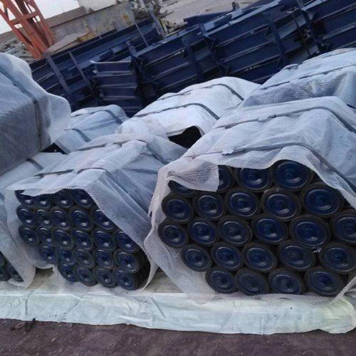 橡胶辊子生产商 安久工矿配件 输送机辊子经销商 槽型辊子批发商