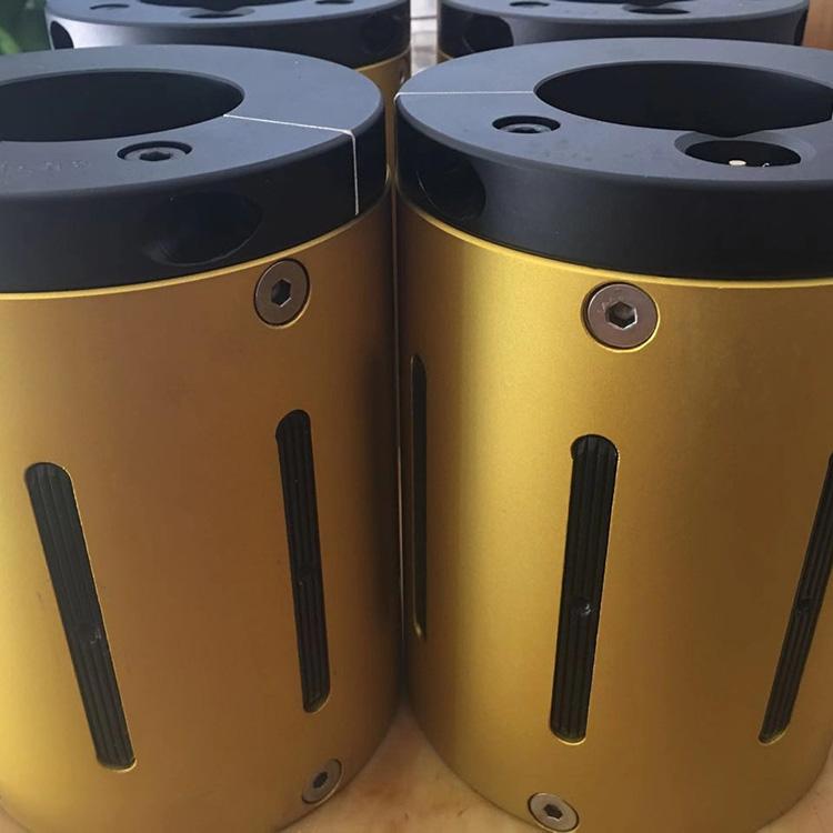 厂家直销分条机配件尼龙塑胶气胀套 凸键式气胀轴 来图定做