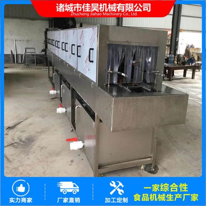 不锈钢周转筐清洗烘干设备多少钱 蔬菜物流箱清洗机哪里有