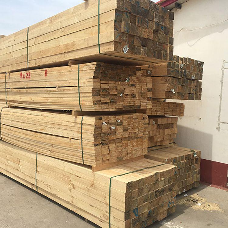 辐射松木方价格 辐射松木方 3米辐射松木方厂家直销 闽东木业