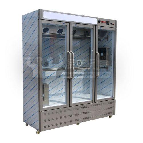 烤鸭风干晾鸭柜直销 展艺兄弟 晾鸭柜 烤鸡店专用晾鸭柜