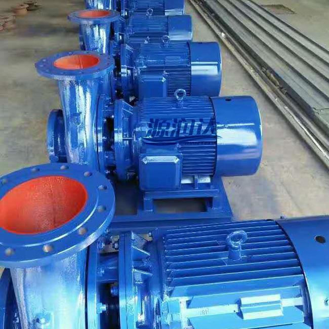 卧式管道离心泵厂家 铸铁材质卧式管道离心泵 源润达