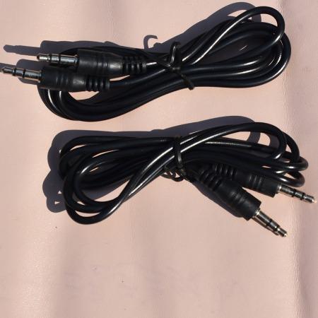 3.5音频线 1米纯铜音频线 车载aux音频线 3.5公对公音频线