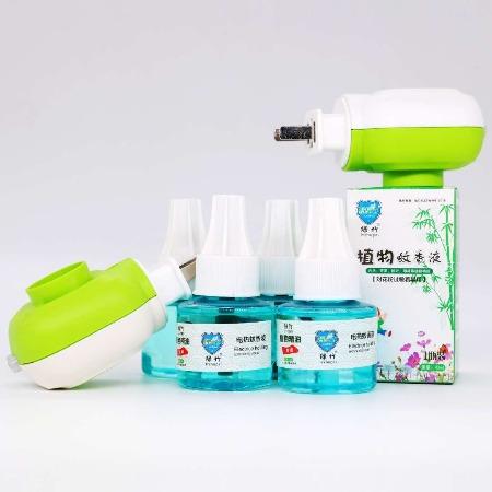 微香植物精油蚊香液 电热灭蚊驱蚊 温和配方 安睡无忧