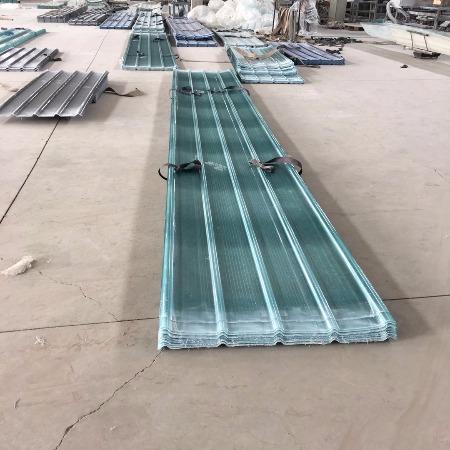 腾佳大棚采光板 阳光板批发  防腐型波浪板