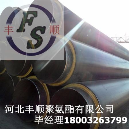 热力直埋保温管价格   聚氨酯直埋保温管件厂家定做  聚氨酯保温钢管报价