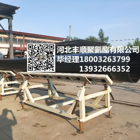 预制缠绕型架空保温管规格   聚氨酯保温管   聚乙烯外护管报价