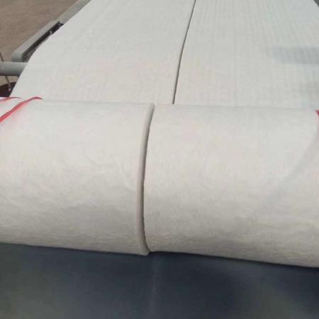 新品硅酸铝纤维毡厂家销售标准型硅酸铝甩丝纤维毯耐高温1260度