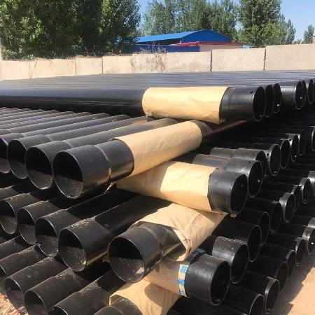 甘肃兰州哪里生产热浸塑钢管河北轩驰管业厂家供应50-219N-HAP热浸塑钢管