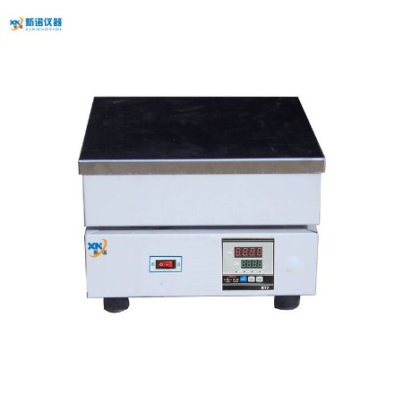 新诺仪器 数显电热板 TP-1A型数显不锈钢电热板 380℃ 数显加热板 260*260