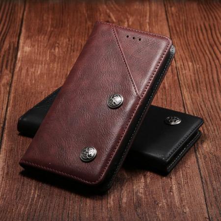 畅销款道格Doogee X60L手机皮套手机壳 复古纹翻盖插卡支架式手机保护套防摔手机套
