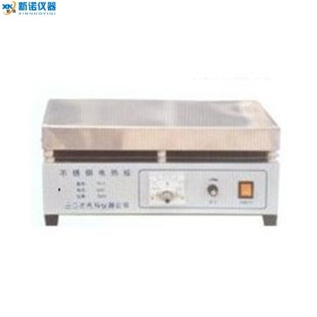 新诺仪器 不锈钢电热板  TP-6型调温不锈钢电热板 550*380 普通调温 380℃  电热板