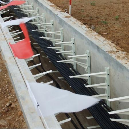 铁力市@正泽兴厂家直销#玻璃钢支架#组合螺钉预埋式电缆隧道沟排管支持A定制