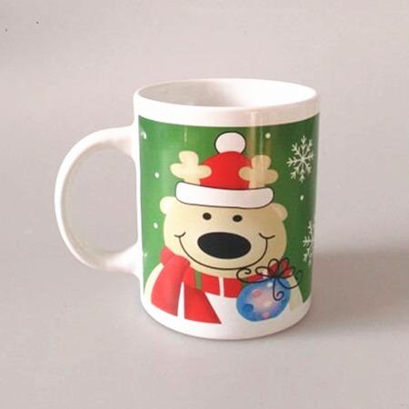 出口陶瓷杯 加印LOGO促销赠品 供应单层环保出口陶瓷杯 定制批发