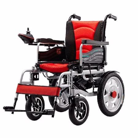 电动轮椅  电动轮椅  天津残疾人轮椅老人残疾人轻便折叠带坐便老年人代步车