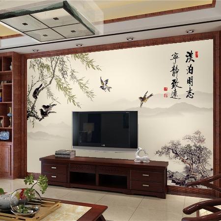 厂家直销_3D打印背景墙_3D打印欧式背景墙画竹木纤维集成墙板