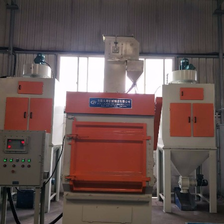 表面处理工艺抛丸机  QPL200型履带式抛丸机   宁波可定做直销生产厂家