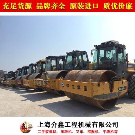 上海静安二手压路机市场 二手压路机交易市场 找介鑫 快速发货
