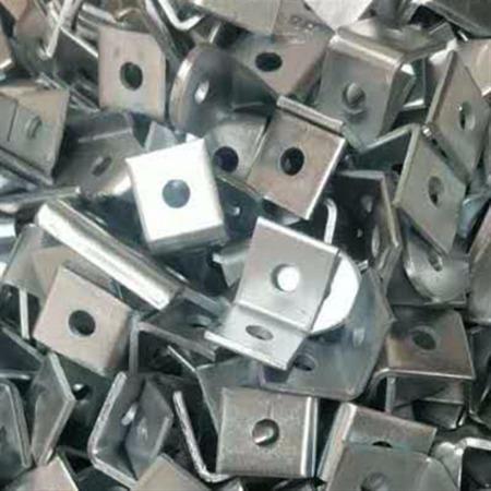 厂家供应镀锌两孔角码 幕墙配件角码 铝合金角码批发