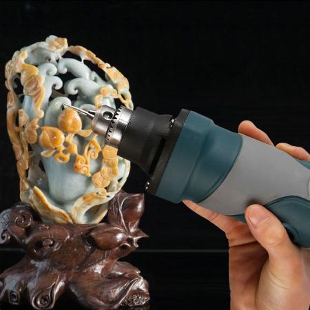 电动打磨机小型手持充电微型小电钻蜜蜡玉石迷你抛光雕刻机电磨机