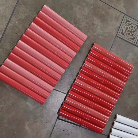 陶瓷富贵竹配件马赛克陶瓷配件长条阳角配件设计定制