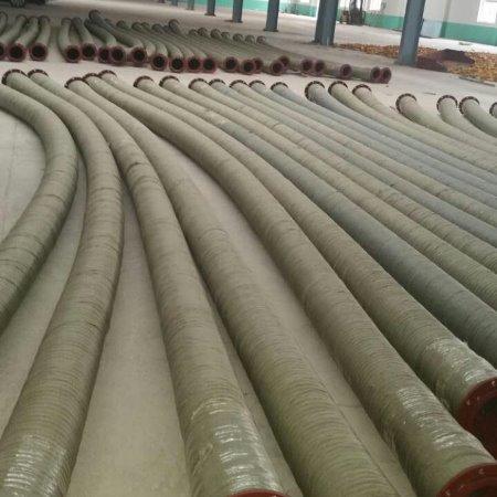 金泽管业厂家专业生产缠绕喷砂管  钢丝耐磨喷砂胶管耐高压胶管