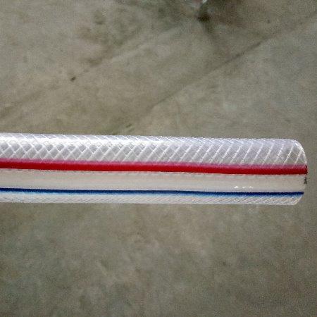 透明pvc软管 耐高温纤维编织增强软管    PVC线管 蛇皮管