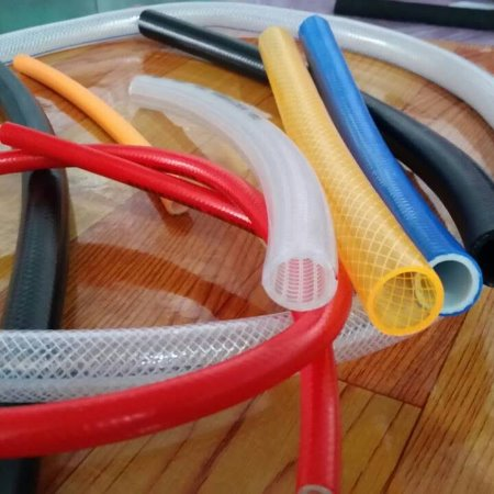 透明pvc软管   耐磨纤维编织增强软管    PVC线管厂家直供