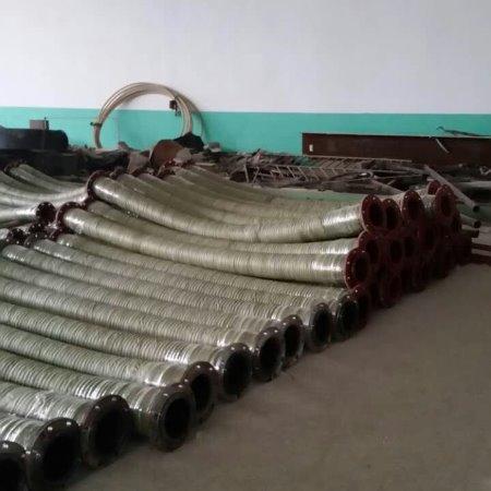 厂家直供钢丝缠绕喷砂管  钢丝编织耐磨喷砂橡胶管    耐高压胶管
