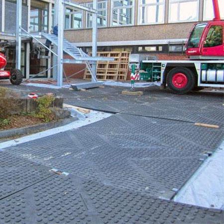 吊车 泵车 专用垫板  生产厂家 巨耀橡塑