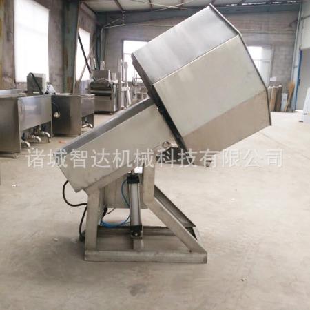 食品调味机 薯条双头不锈钢八角拌料机 智达机械支持定制厂家直销