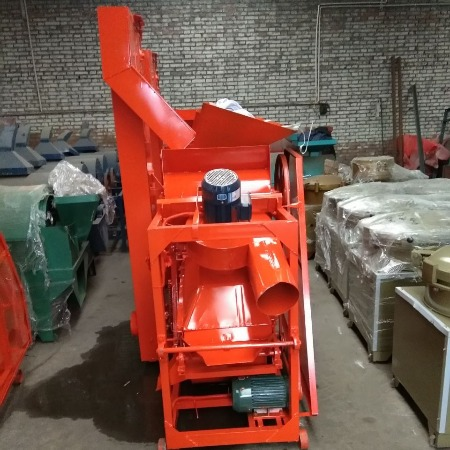 厂家直销1200型自动上料环保型花生剥壳机