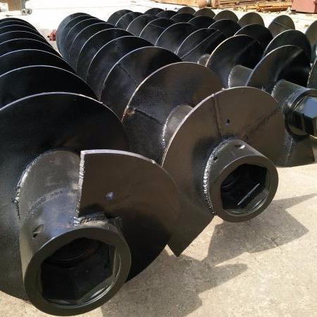 河北合和专业制造优质cfg长螺旋钻杆螺旋钻头 耐磨 出土快 效率高