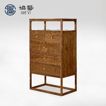 新中式五斗柜 新中式柜子 现代简约五斗柜 现代五斗柜图片大全 卧室五斗柜 客厅可以放五斗柜吗