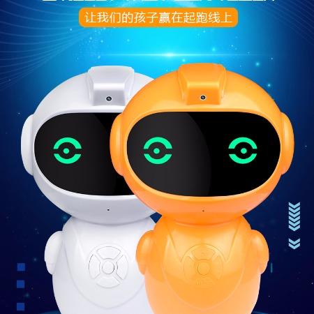 早教学习机绘本阅3c智能读儿童机器人AI语音对话智能设备