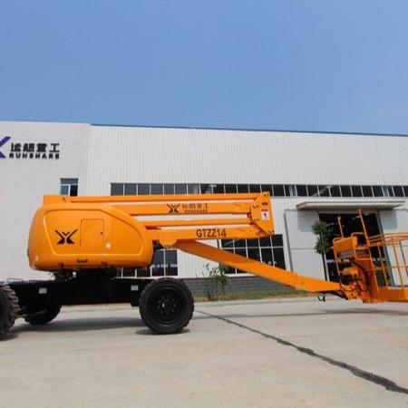 运想重工GTZZ14曲臂式高空作业平台,柴油曲臂升降机,14米自行走折臂升降平台,高空作业平台厂家