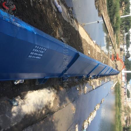 液压钢坝闸门价格 液压平板钢坝闸门双向门机  龙港水工厂家定