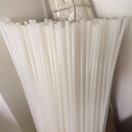 杜邦 进口白色尼龙棒 4/5//6/8/10/12/15mm 小直径尼龙棒  耐磨塑料棒 PA66棒