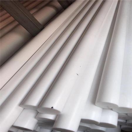 铁氟龙棒 白色PTFE棒板 聚四氟乙烯板棒 四氟板棒 特氟龙 塑料王棒 铁氟龙棒板加工零切定制