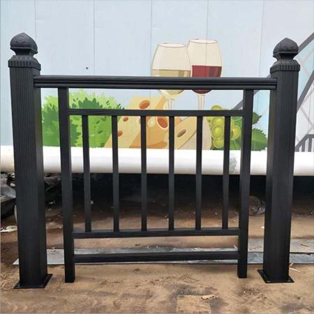 厂家直销小区别墅安全护栏铝艺栅栏 铝合金窗台户外围墙护栏围栏